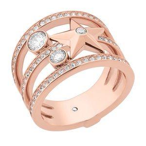New Michael Kors rose gold-toned ring